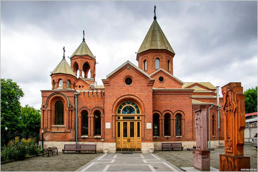 Армянская церковь. Владикавказ